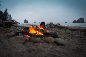 Καλοκαίρι φωτιά στην παραλία